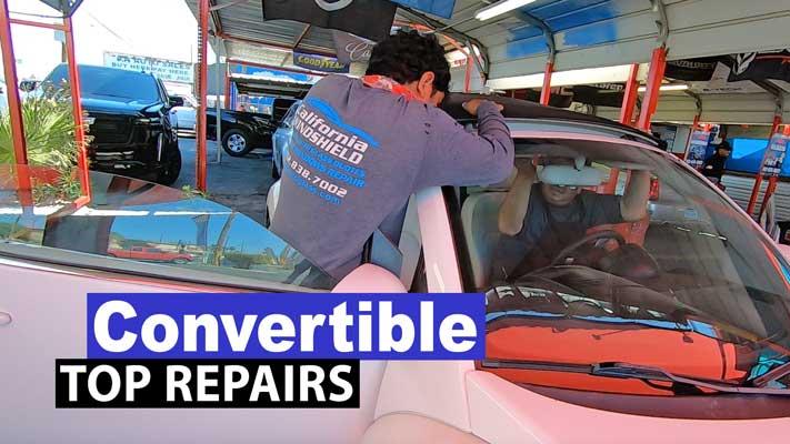 Convertible Top Repairs